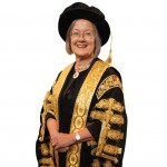 LONDON, ENGLAND - OCTOBER 01:  Baroness Hale of Richmond, One of the new 11 Justices of the Supreme Court, and the only woman, arrives in Westminster Abbey after being sworn in on October 1, 2009 in London, England. Lady Hale wears a hat despite other Justices of the Supreme court breaking tradition and choosing not to wear wigs. The Judges, who are to replace the former Law Lords, mark the start of the legal year with a traditional religious service, arriving from the Royal Courts of Justice for a service which is followed by a procession to The Houses of Parliament and then a reception held by the Lord Chancellor. The ceremony in Westminster Abbey has roots in the religious practice of the judges praying for guidance at the start of the legal year. The custom dates back to the Middle Ages when the High Court was held in Westminster Hall.  (Photo by Dan Kitwood/Getty Images) *** Local Caption *** Baroness Hale